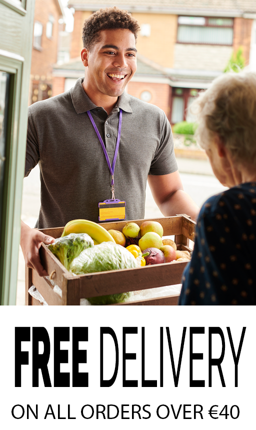 Fresh fruit and veg, Free Delivery